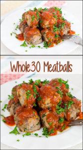 Whole 30 Meatballs