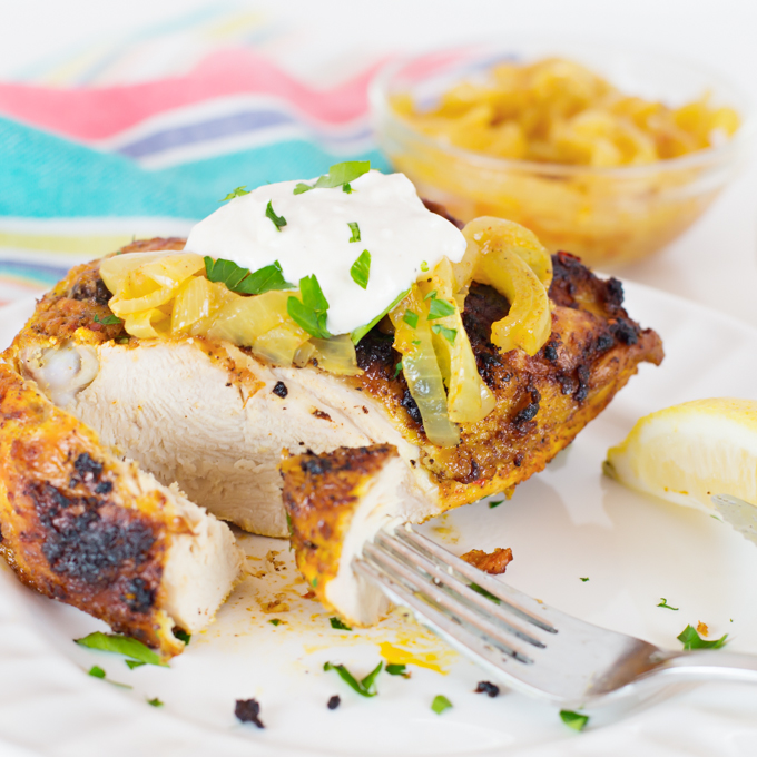 Baked Chicken (Shawarma Style)