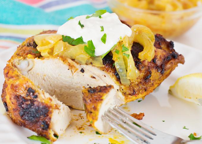 Baked Chicken (Sharwarma Style)