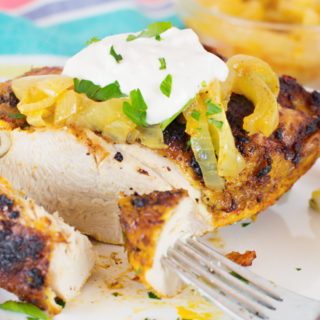 Baked Chicken (Shawarma Style)