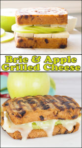 Brie & Apple Grilled Cheese