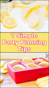 Seven Simple Party Planning Tips