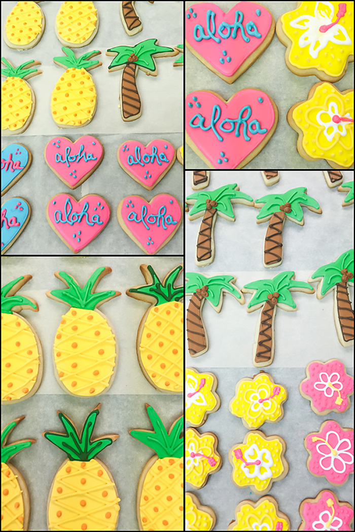 Aloha Themed Wedding Shower