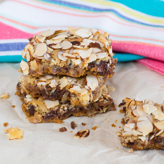 Almond Joy Magic Cookie Bars