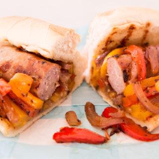 Grilled Italian Sausage Sandwich
