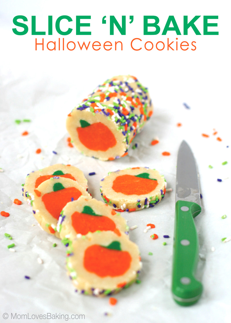 Slice & Bake Halloween Cookie