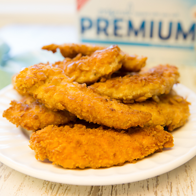 Cracker Crumb Chicken Tenders