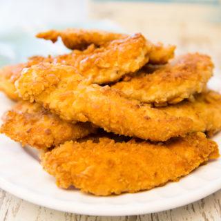 Cracker Crumb Chicken Tenders
