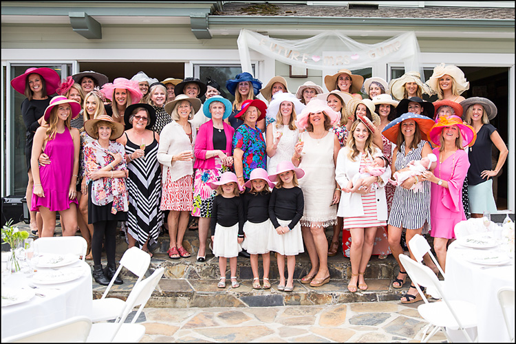 Brunch, Bubbly, & Big Hats Bridal Shower