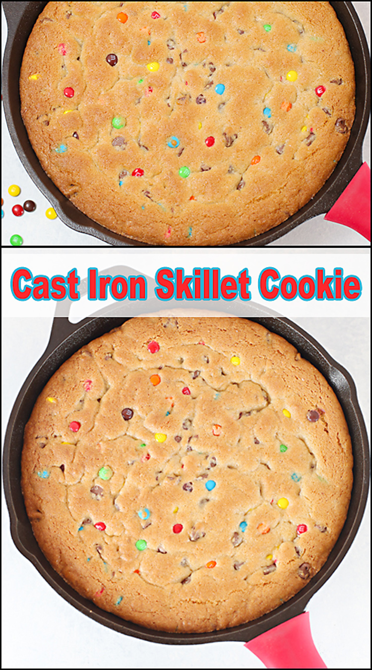Cast Iron Skillet Cookie