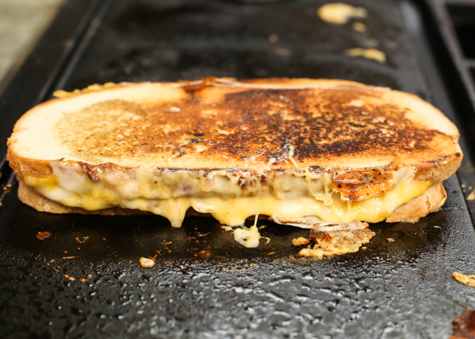 Animal Style Grilled Cheese