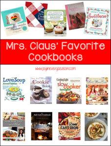 Mrs. Claus' Favorite Cookbooks