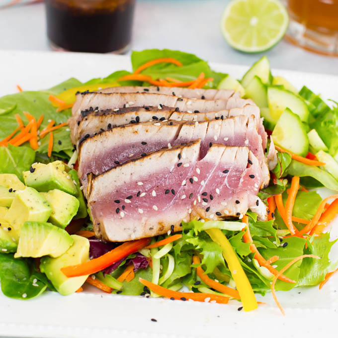 Seared Ahi Salad