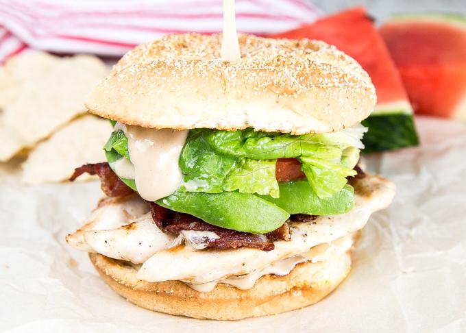 Chicken Caesar Sandwich