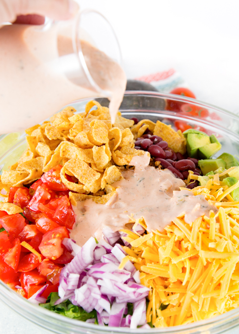 Taco Salad w/Salsa Lime Dressing