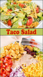 Taco Salad w/Salsa Lime Dressing
