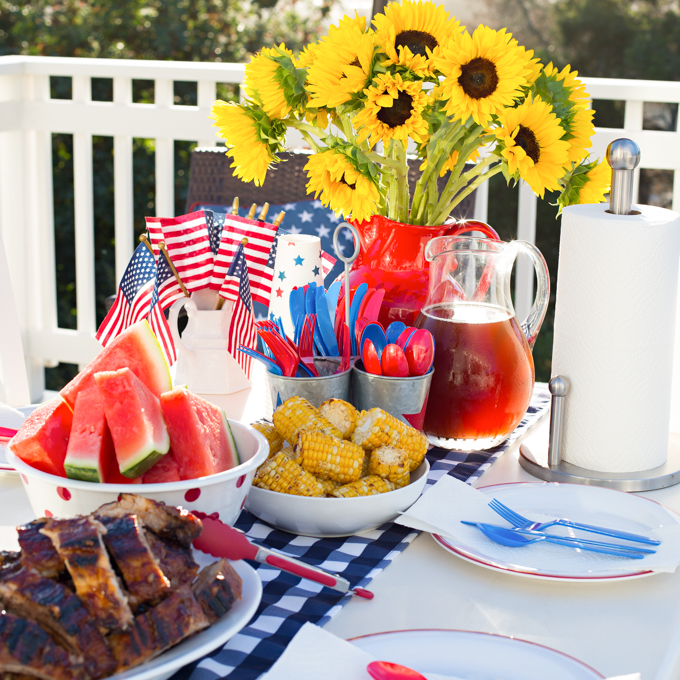 4th of July BBQ Inspiration