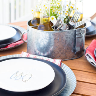Father's Day Tablescape and Menu Ideas