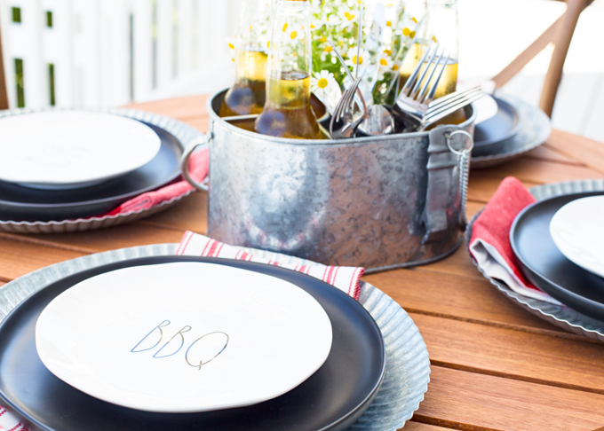 Father's Day Table and Menu Ideas