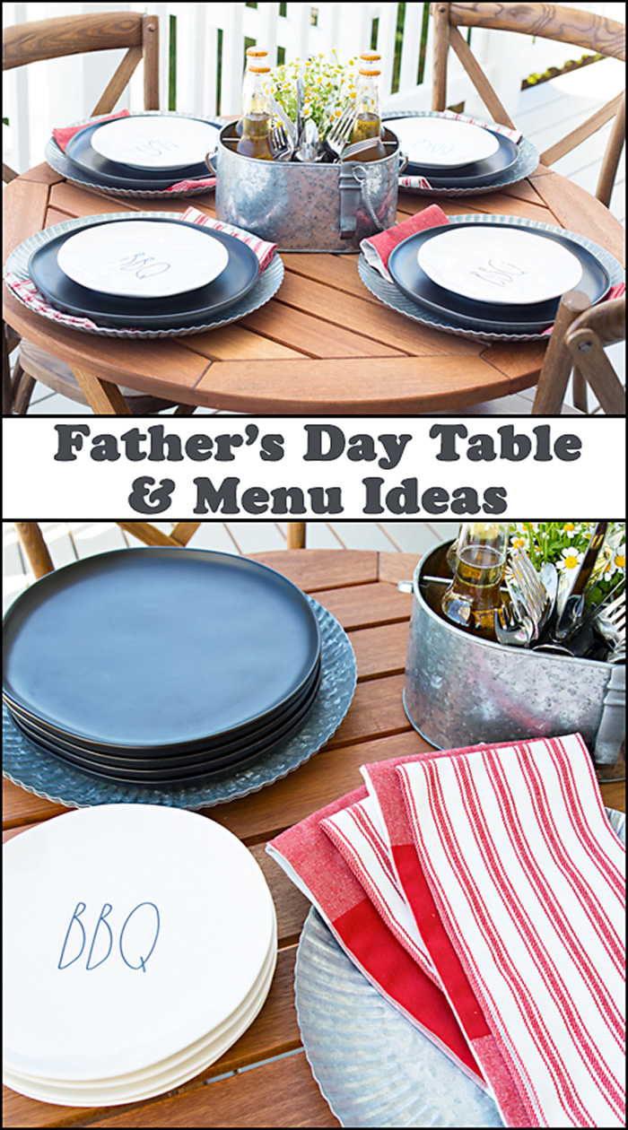 Father's Day and Menu Ideas