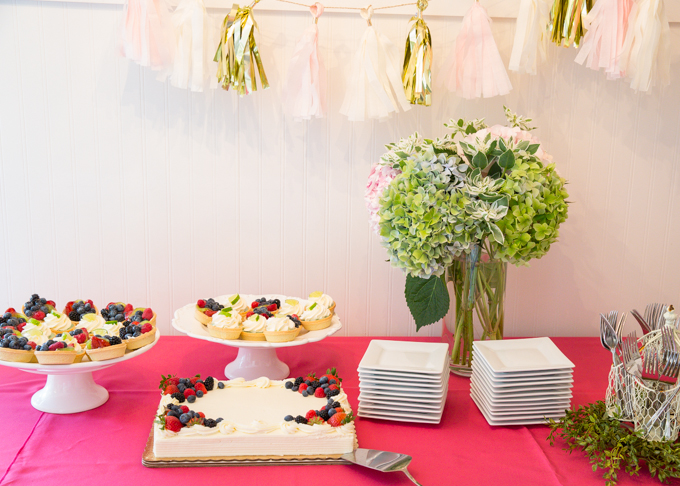 Floral Bridal Shower Brunch