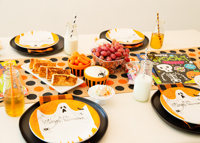 Halloween Lunch for Your Little Ones