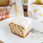Banana Cake w/Cream Cheese Frosting