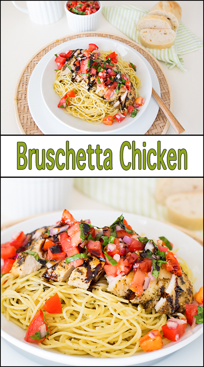30 Minute Bruschetta Chicken