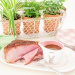 Easter Ham with Brown Sugar Mustard Glaze