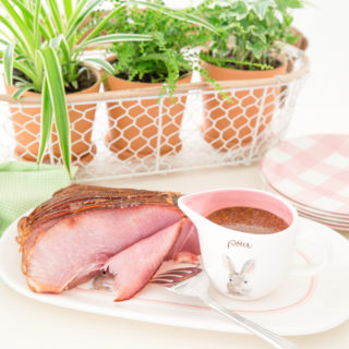 Easter Ham with Brown Sugar Mustard Glaze