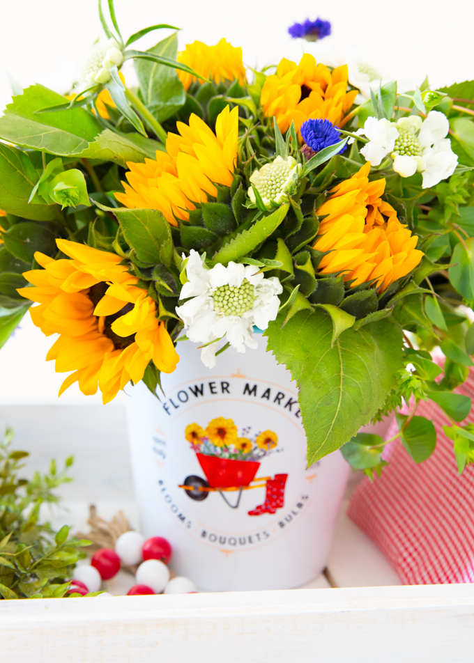 Flower Market Centerpiece